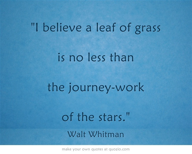 WALT  WHITMAN. Leaves of Grass.