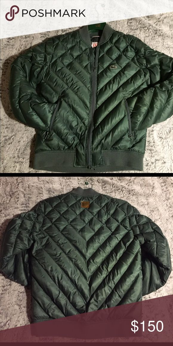 Lacoste Live Men's Quilted Jacket Size:Small , only worn once so it's in good condition. Lacoste Jackets & Coats