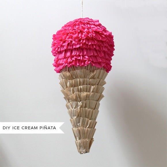 DIY Ice Cream Pinata