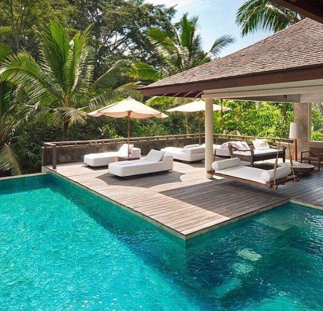 Swimming pool, Bali, outdoor..