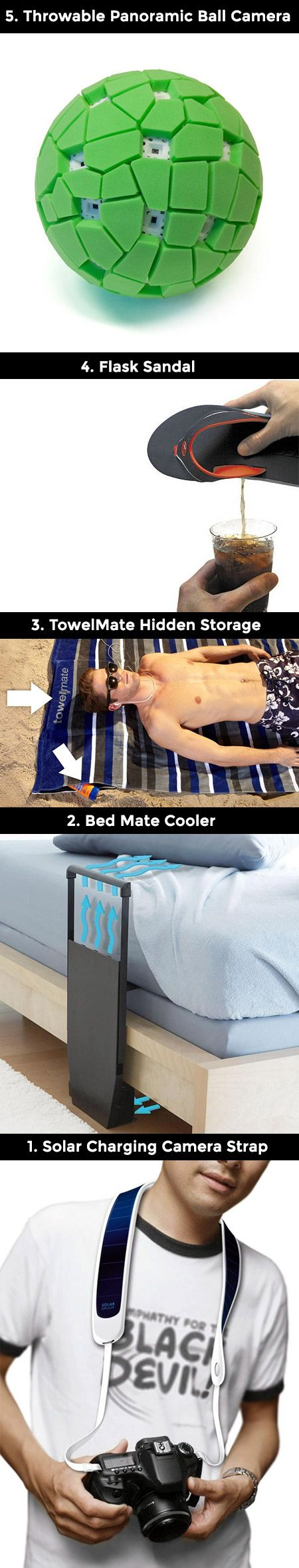 It is that time again, time for some cool and useful gadgets that are perfect for summer.