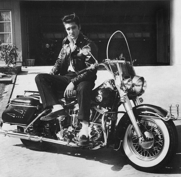 Elvis & his HydraGlide