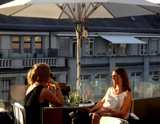 "Travel and Lifestyle Diaries Blog: Zurich: The ""ooo Bar"" aka Modissa Rooftop Bar where the beautiful people go"