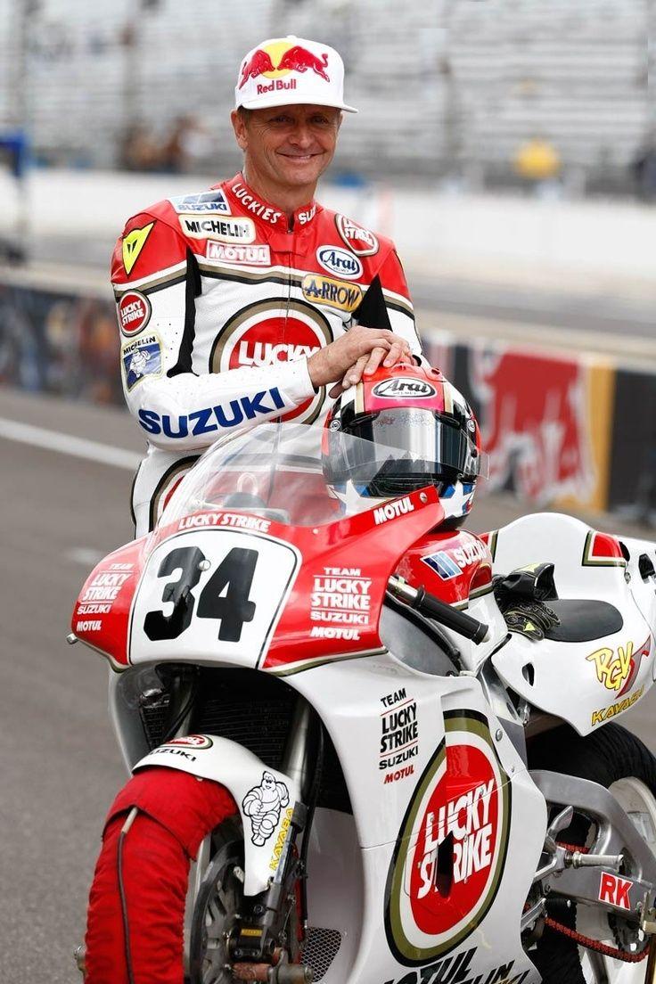 Kevin Schwanz Lucky Strike Suzuki 500