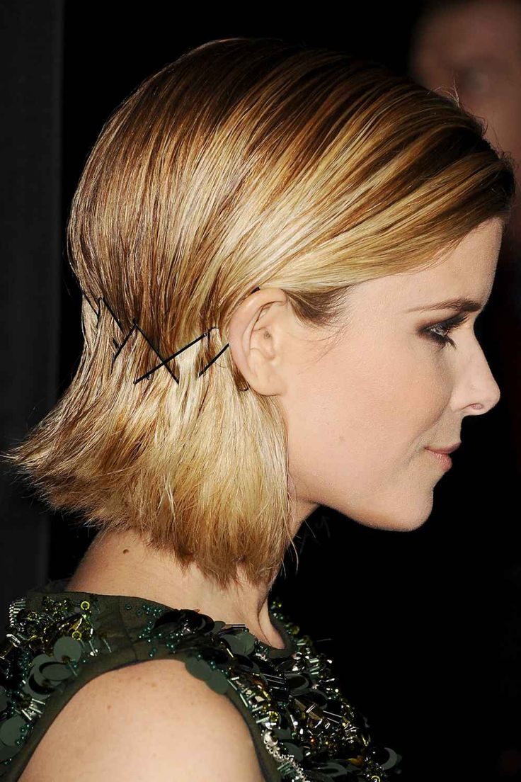 hairstyles for short hair using bobby pins: styling tricks for