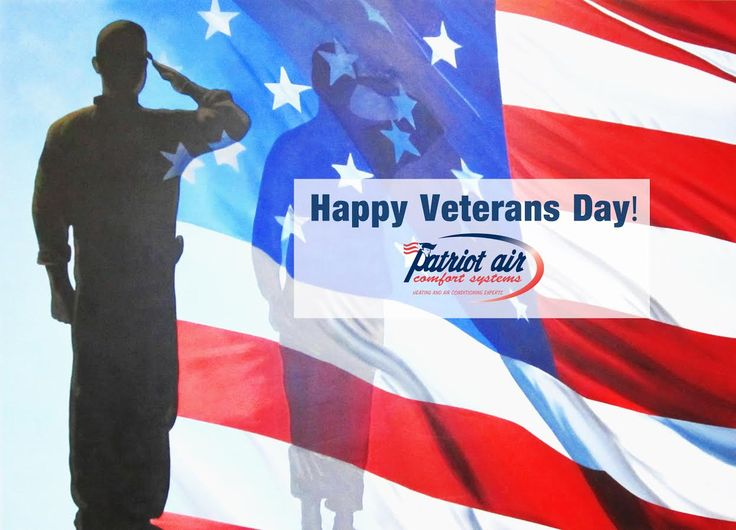 Happy Veterans Day! We thank you for your service. #veteransday