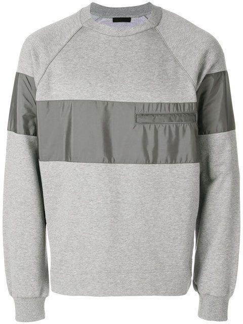 e3003a2ebcc8 Prada Panelled Sweatshirt - Farfetch Designer Clothes For Men, Prada Men,  Sleeves, Sweatshirts