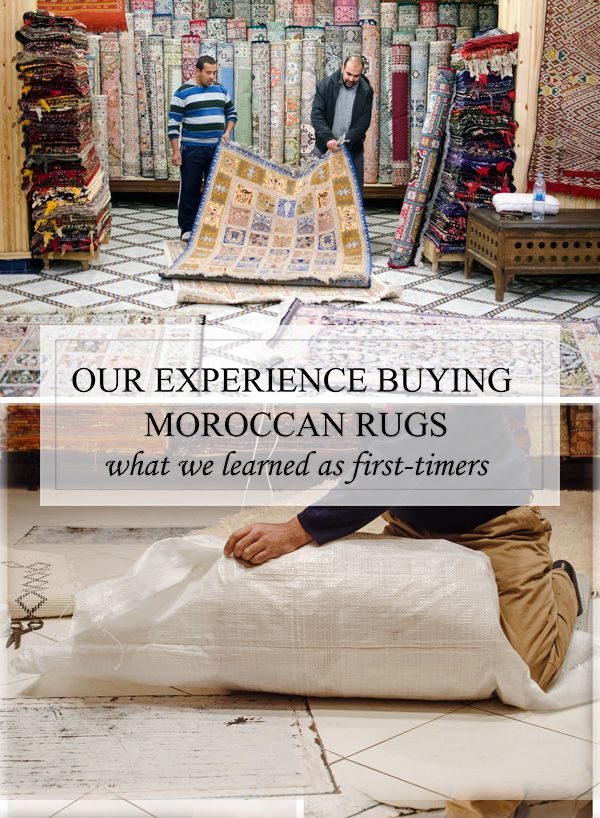 How To Buy Carpets in Morocco - Tips for Marrakech and Fez Moroccan Rugs via @sideofsweet