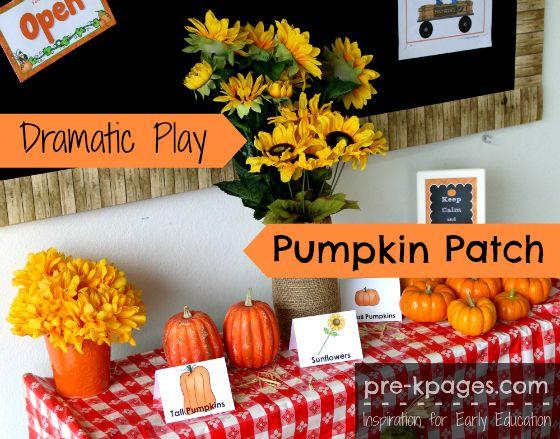 Pumpkin Patch Dramatic Play