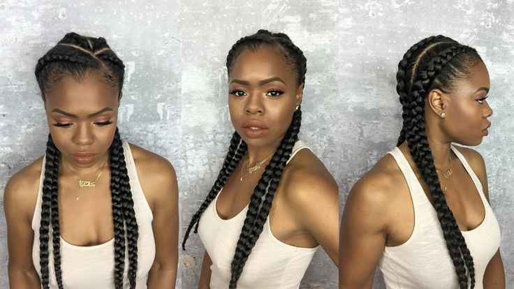 How to Install Invisible Cornrow on your own head (Ghana Technique) [Video] - http://community.blackhairinformation.com/hairstyle-gallery/braids-twists/install-invisible-cornrow-head-ghana-technique-video/