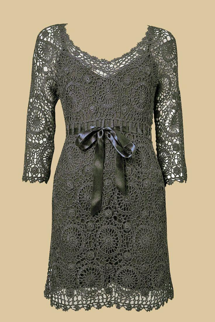 crochet lace dress motifs | make handmade, crochet, craft