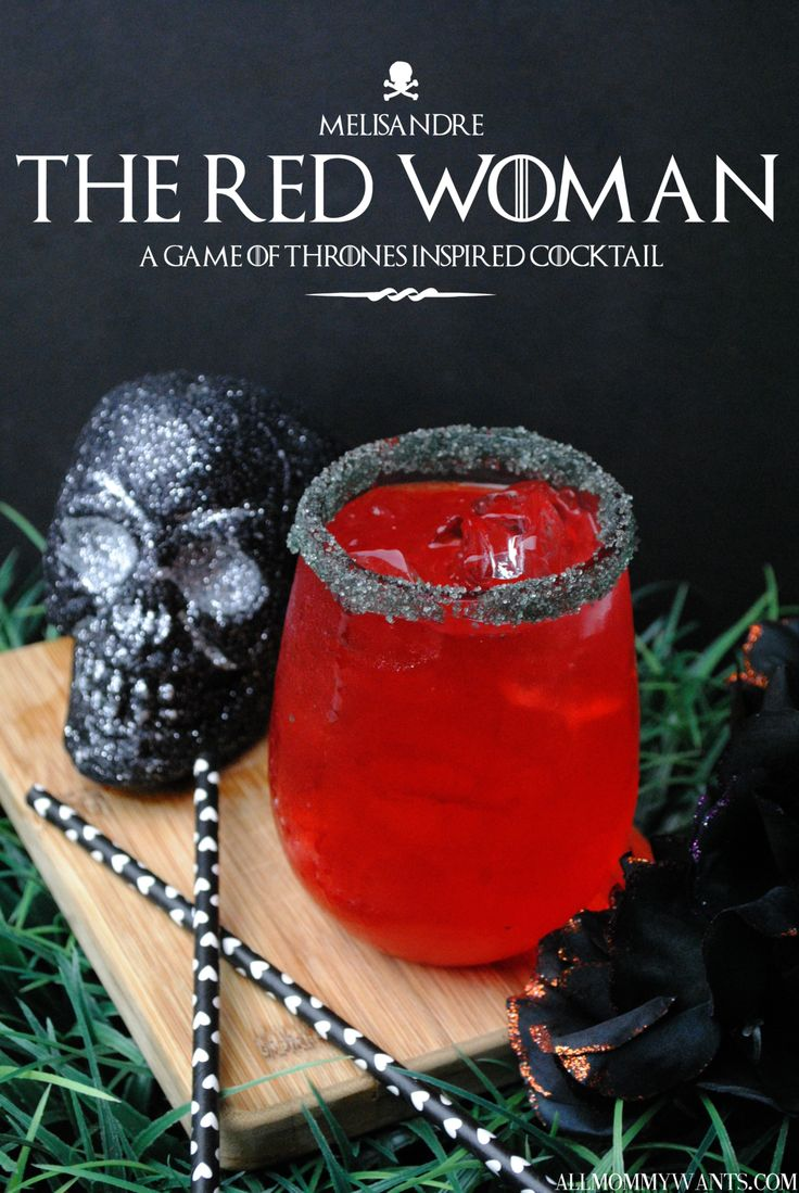 Game of Thrones Inspired Cocktail - The Red Woman (With Cherry Vodka & Fireball) | All Mommy Wants