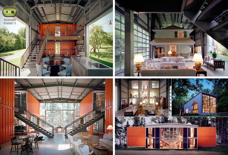 Container houses by adam kalkin containers house pinterest house and container houses - Kalkin shipping container homes ...