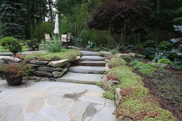 Landscape Boulders Orange County Ca : Best images about large slab stone staircases on pathways saddles and landscapes