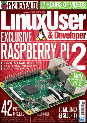 Linux User & Developer is the world's premium magazine for Linux professionals and Raspberry Pi enthusiasts, dedicated to the proliferation of open source tools and knowledge. Get the inside story on the Raspberry Pi 2's creation and protect your system with our Total Linux Security feature in this exciting issue.