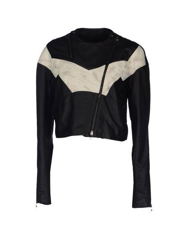 PIERRE BALMAIN Leather Outerwear. #pierrebalmain #cloth #dress #top #skirt #pant #coat #jacket #jecket #beachwear #