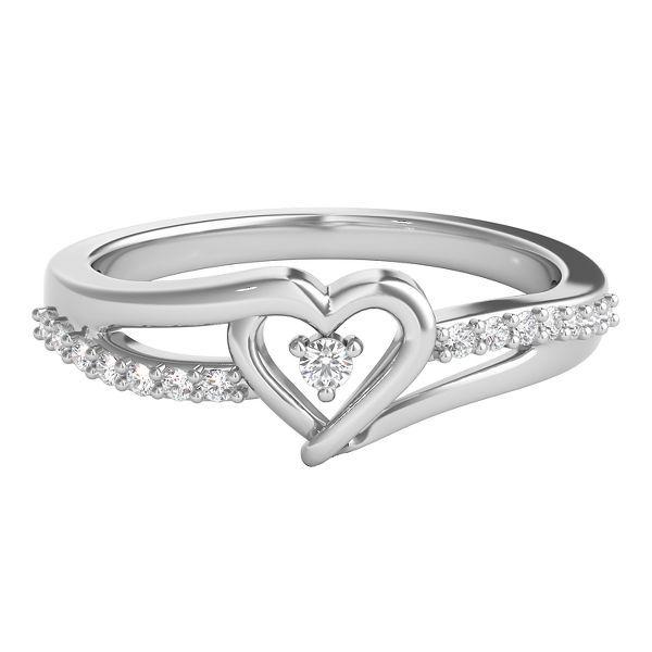 diamond heart promise rings - photo #21