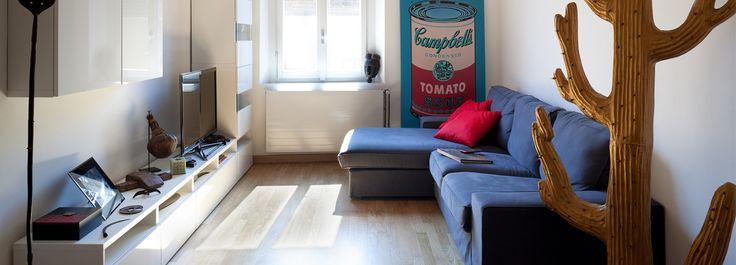 Una casa stretta e lunga che ottimizza lo spazio - Cose di Casa