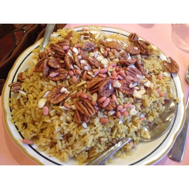 Arroz huérfano, restaurante La Canasta en Saltillo, México.  Una palabra: orgásmico.