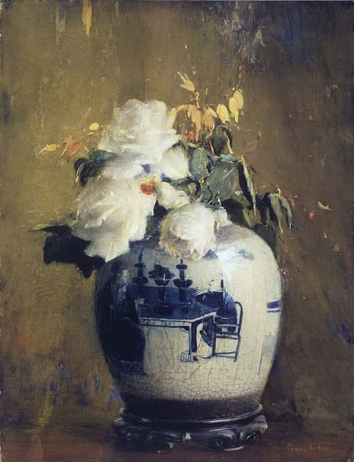 Anna S. Fisher, The White Roses, 1922