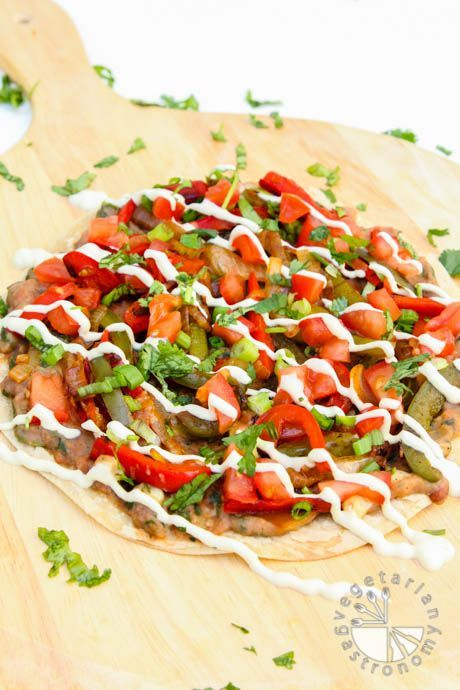 The Ultimate Mexican Pizza (vegan, gluten-free) - Vegetarian Gastronomy