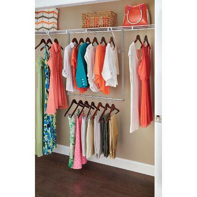 Wonderful ClosetMaid Double Hang Closet Rod U0026 Reviews | Wayfair