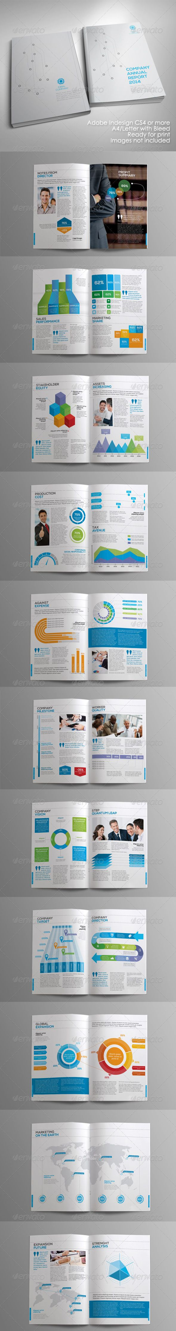 Print Templates - Infographic Annual Report | GraphicRiver