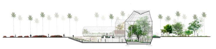 Galería de Primer Lugar en concurso público para el diseño del nuevo Tropicario del Jardín Botánico / Bogotá, Colombia - 18