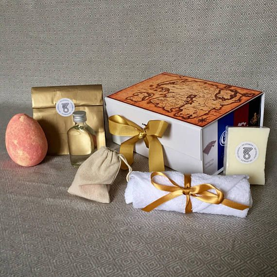 Game of Thrones Gift Set for Him Her Dragon Egg Bath Bomb