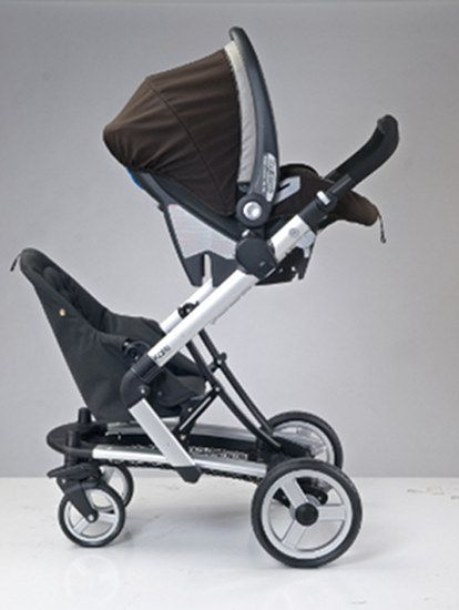 Peg Perego Skate now a double pram with new Jumper Seat!