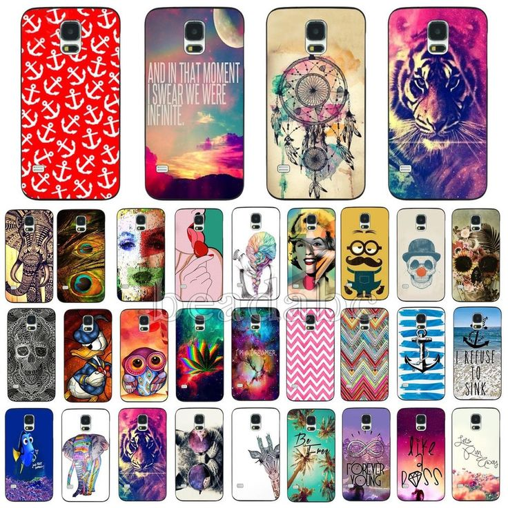 For Samsung Galaxy S3 S4 S5 Case i9600 Skin Cover Popular Colorful Pattern Hot #UnbrandedGeneric #Fashion