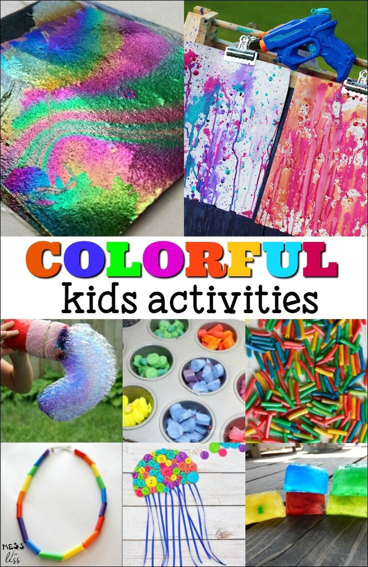 Primary color games for preschoolers - Colorful Kids Activities