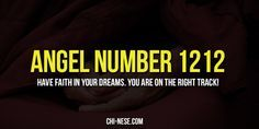 Angel number 1212 and its spiritual meaning - The Law of Attraction Blog #angelnumbers #angelnumber