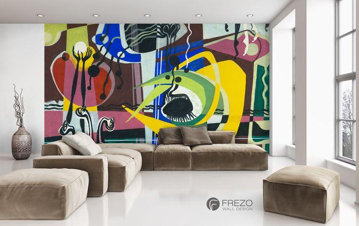 "Wallpaper ""Yellow Crab"" • WOO Design"