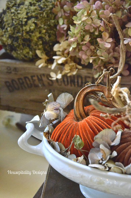 Vintage Fall vignette - Housepitality Designs | The Great ...