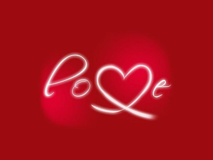 scrivetelo... chiamatelo come un mantra, l'Amore.