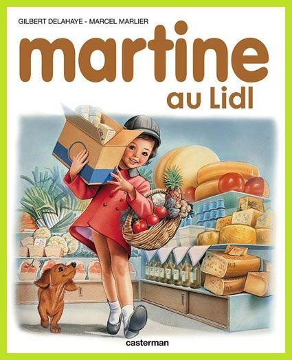 Martine au Lidl