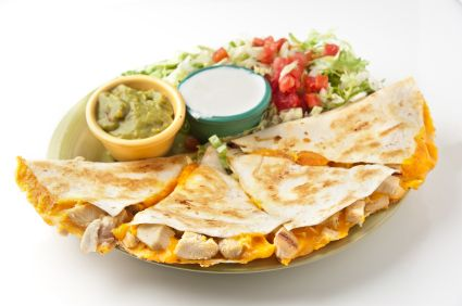 Chicken Quesadillas on your Foreman Grill! Delicious, fresh, quick and easy recipe! www.foremangrillrecipes.com
