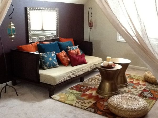Sitting Room Moroccan Meditation Room With An Asian Feel