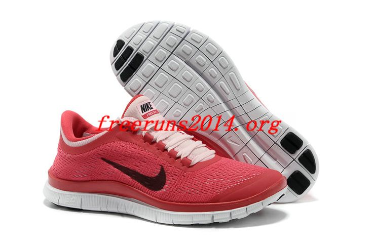 uk availability 45be5 72155 ... cheap 126iv7 red black nike free 3.0 v5 womens running shoes 6ea40  ae774 ...
