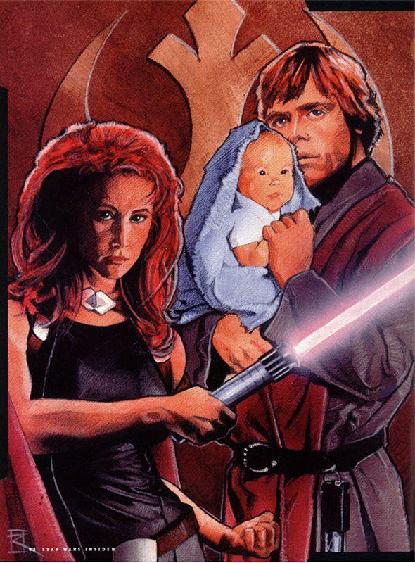 Mara Jade mit au monde Ben Skywalker, dont le père n'était autre que Luke Skywalker. La naissance de Ben marqua la fin de la maladie de Mara que Nom Anor lui avait inoculée deux ans auparavant, certainement éradiquée par la Force elle-même qui avait coulé dans le corps de Mara lors de son accouchement.