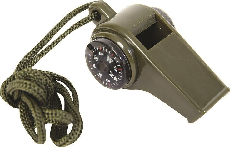 3 in 1 Emergency Whistle Contain Compass, temperature Display and Whistle: Amazon.co.uk:…