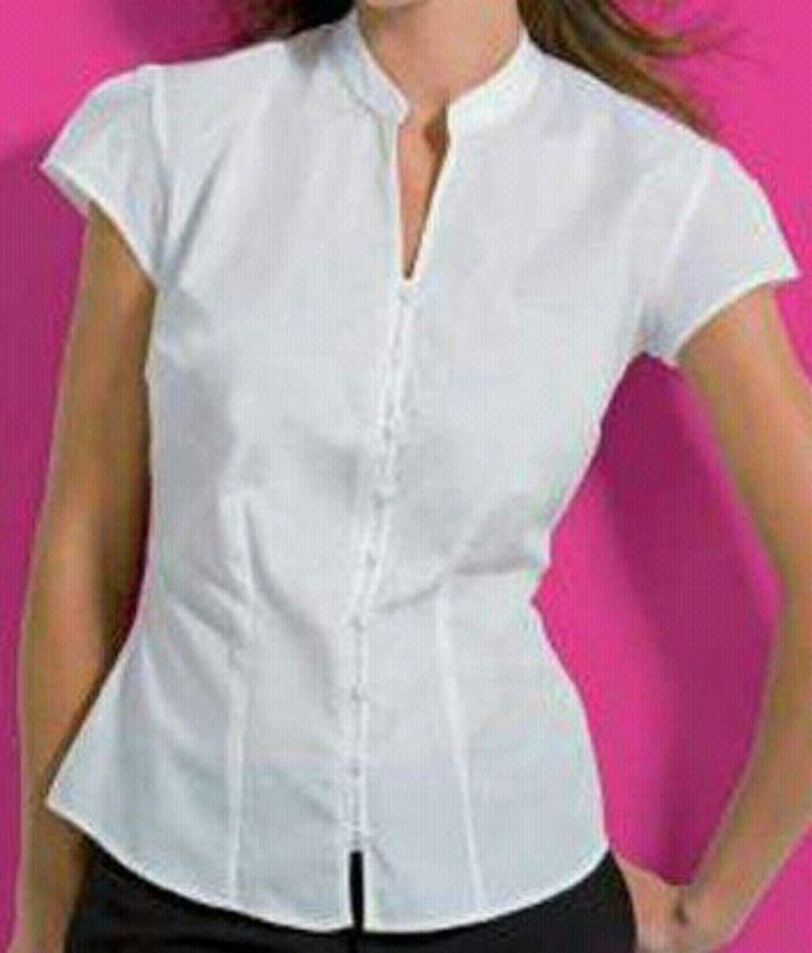 camisas blancas para dama - Buscar con Google