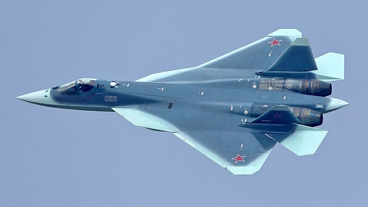 Newly captured photo shows Russia's new shark stealth fighter