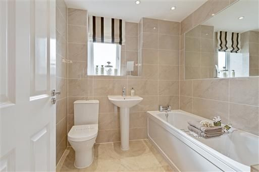 New homes for sale in northampton northamptonshire from for Bathroom design northampton