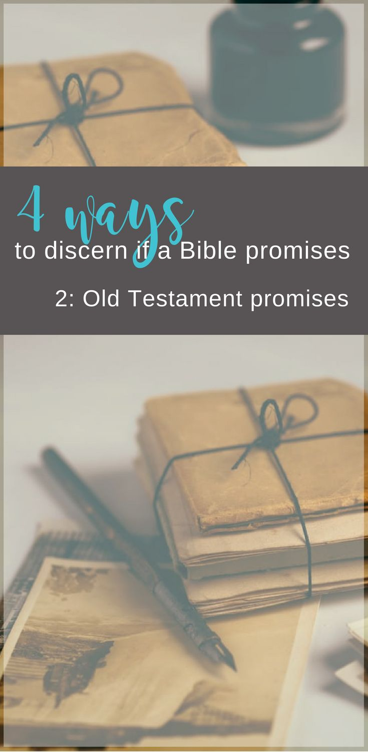 Do al of God's promises in the Bible apply to me?