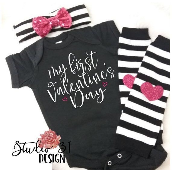 Valentines Day Outfit Tutu Outfit 1st Valentines Day Baby Outfit Baby Girl Happy Valentine S Day Ba Valentines Outfits Valentine S Day Outfit Tutu Outfits