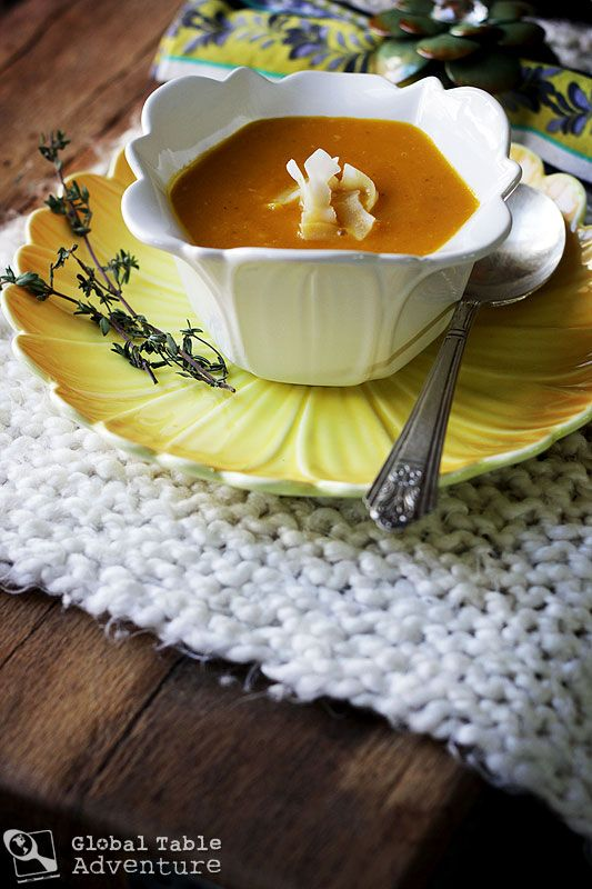 Caribbean Pumpkin & Coconut Cream Bisque