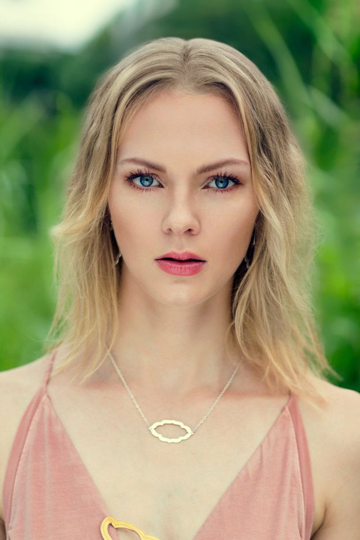 The Nomad Necklace in Sterling Silver. Shop this look at www.murkani.com.au