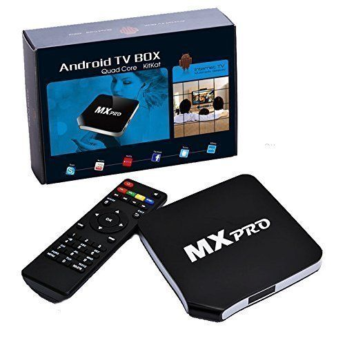 Happyjoy MXpro Android 4.4 Quad Core Smart TV Box - Movies and TV Programs with New Fully  Loaded KODI (XBMC) 1080P Full HD Media Player - Upgraded Android 4.4.2 Quad Core Mx Pro Smart TV Box (KODI–latest version of XBMC) 3-Year Warranty. Provides online instructions, using guidance and after-sale service.  The MxPro with 1080p HD gives you the best entertainment right on your widescreen TV. Choose from thousands of current... - http://ehowsuperstore.com/bestbrandsales/